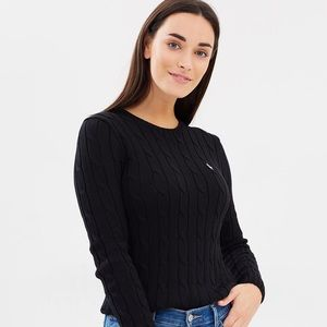 Polo Ralph Lauren Cable Knit Crew Neck Sweater
